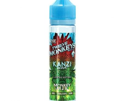 Twelve Monkeys - Ice Age Series - Kanzi Iced 50ml Short Fill E-Liquid TMFLA3TMI5000