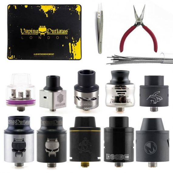Rebuildable Dripping Atomizer Bundle VBBUE2RDAF108