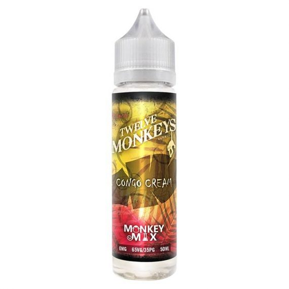 Twelve Monkeys Co - Congo Cream 50ml Short Fill E-Liquid TMFLF6TMC5000