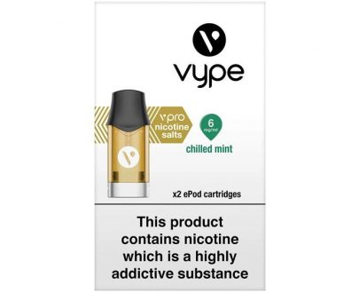 Vype ePod vPro Cartridges – Chilled Mint VYELACEVC2M06