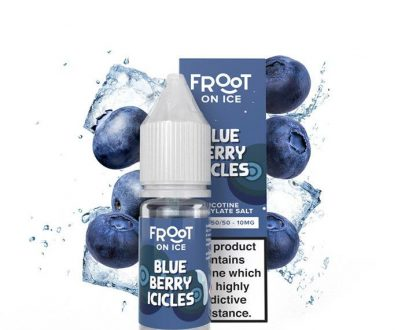 Froot Salt On Ice Blueberry Icicles 10ml Nic Salt FEELCDFSI1020