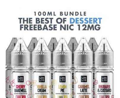 Best Dessert E-Liquids 10 x 10ml Bundle - 12mg VBBU3EBDE1798