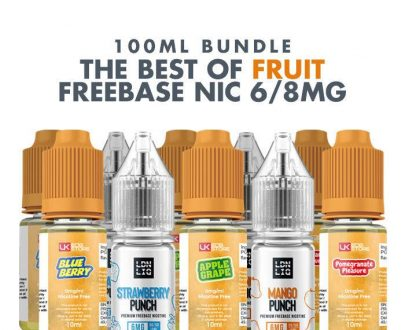 Best Fruit E-Liquids 10 x 10ml Bundle - 6/8mg VBBUAFBFEB26F