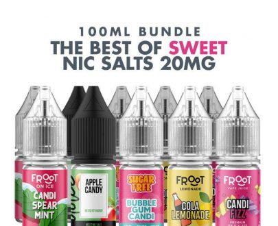 Best Sweet E-Liquids 10 x 10ml Nic Salt Bundle - 20mg VBBU11BSEC714