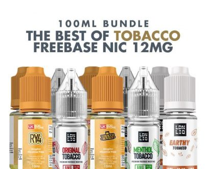 Best Tobacco E-Liquids 10 x 10ml Bundle - 12mg VBBU39BTEC5B2