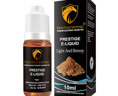 Light %26 Breezy 10ml E-Liquid | Prestige Vaping UK