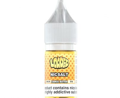 Loaded Cookie Butter 10ml Nic Salt E-Liquid LOEL0ECB11010
