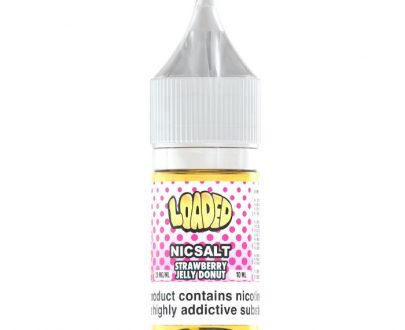 Loaded Strawberry Jelly Donut 10ml Nic Salt E-Liquid LOELFESJD1010