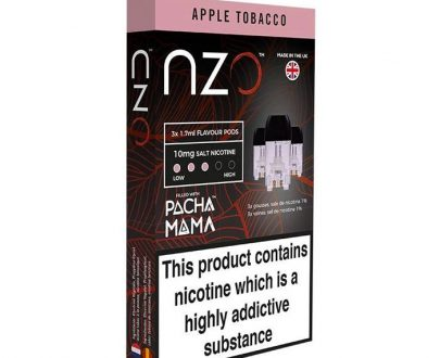 NZO Apple Tobacco Pods by Pacha mama - Pack of 3 NZPO13ATP1010
