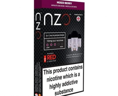 NZO Mixed Berry Pods - Pack of 3 NZPOB0MBP1010