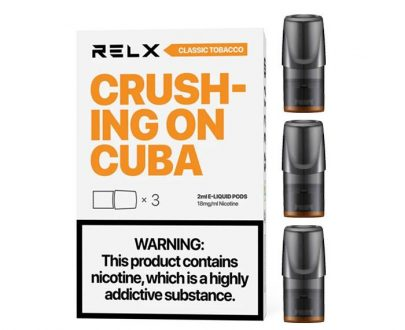 RELX Replacement 2ml Pods REELF7R2P2M18