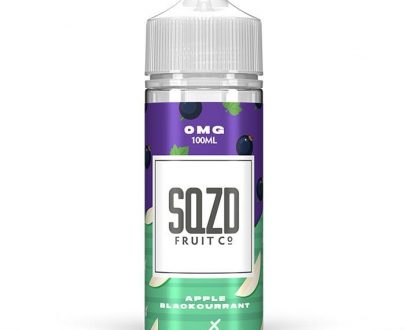 SQZD - Apple Blackcurrant 100ml Short Fill E-Liquid SEEL80SAB1000