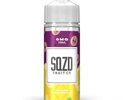 SQZD - Grape Pineapple 100ml Short Fill E-Liquid SEEL90SGP1000