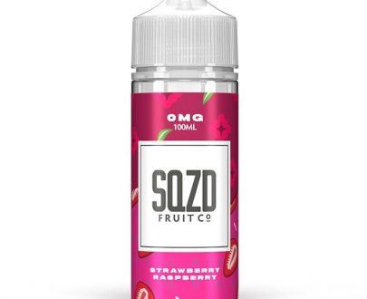 SQZD - Strawberry Raspberry 100ml Short Fill E-Liquid SEEL98SSR1000