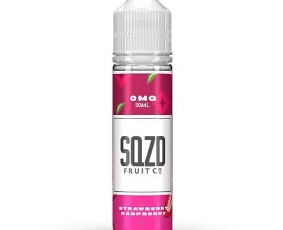 SQZD - Strawberry Raspberry 50ml E-Liquid SEEL8ESSR5000