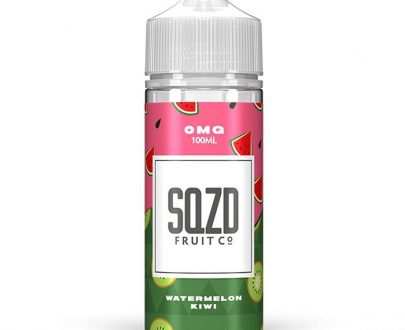 SQZD - Watermelon Kiwi 100ml Short Fill E-Liquid SEEL99SWK1000
