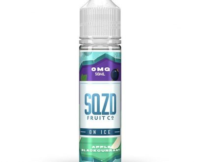 SQZD On Ice - Apple Blackcurrant On Ice 50ml E-Liquid SEEL10SIA5000
