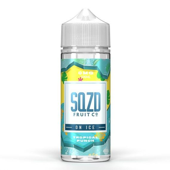 SQZD On Ice - Tropical Punch On Ice 100ml E-Liquid SEEL04SIT1000