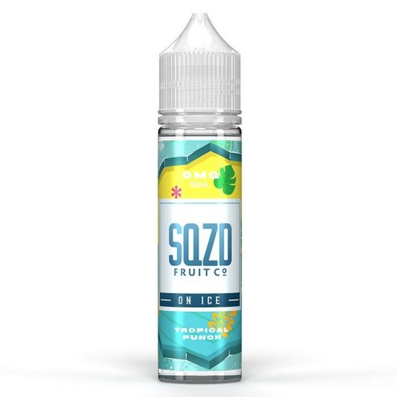SQZD On Ice - Tropical Punch On Ice 50ml E-Liquid SEELD5SIT5000