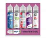 The Sweet E-Liquid Juice Pack - 250ml Bundle VBELC7TSE2500