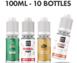 The 10ml E-liquid Vape Subscription Box 10 Bottles Strong Strength UKECSSUB10MLSTR