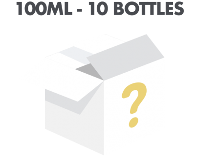 10 x 10ml Mystery E-liquid Flavour Subscription Box - Ultimate Flavour UKECS Mystery Bundle 100ml 1