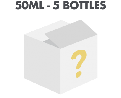 5 x 10ml Mystery E-liquid Flavour Subscription Box - Ultimate Flavours UKECSMysteryBundle 50ml