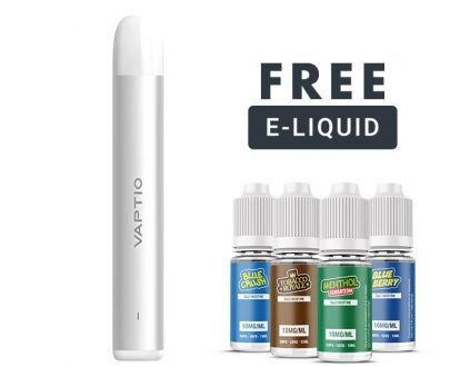 Vaptio AirGo Stick Pod Vape Kit - Free UK Delivery VAVK16ASV940E