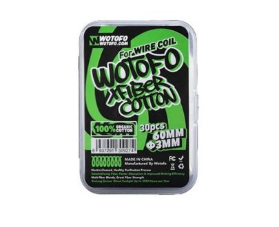 Wotofo X Fiber Cotton 3mm Cotton Wicks WOADCNWK3MM