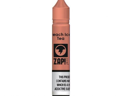 Zap! Juice Peach Ice Tea 10m Nicotine Salt E-Liquid ZJEL35PIT1020
