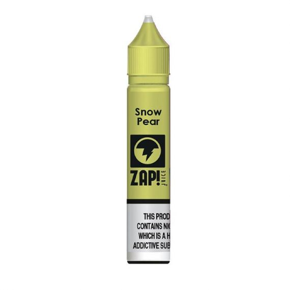 Zap! Juice Snow Pear 10ml Nicotine Salt E-Liquid ZJELA0SP11020