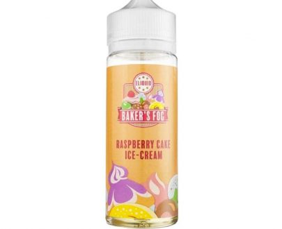 Baker's Fog - Raspberry Cake Ice Cream 100ml Short Fill E-Liquid BFEL9ARCI1000