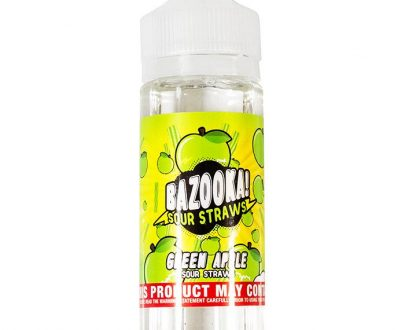 Bazooka - Green Apple 100ml Short Fill E-Liquid BEFL07BGA1000