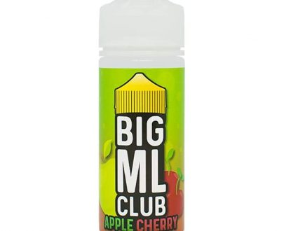 Big ML Club - Apple Cherry 100ml Short Fill E-Liquid BMFL44AC11000