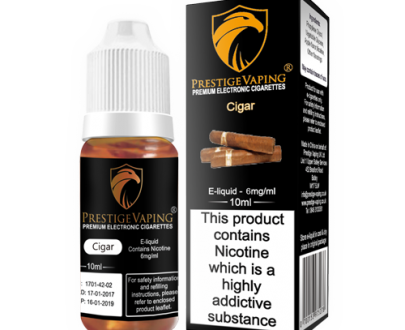 Cigar 10ml E-Liquid | Prestige Vaping UK