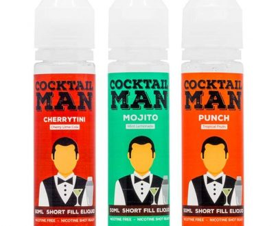 Cocktail Man 150ml Short Fill Juice Pack CMBUF7CM11500