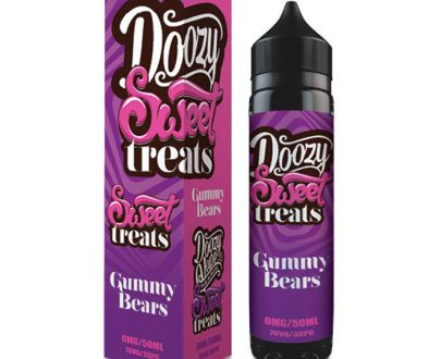 Doozy Vape Sweet Treats - Gummy Bears 50ml Short Fill E-Liquid DVELD9STG5000
