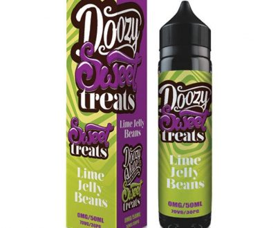 Doozy Vape Sweet Treats - Lime Jelly Beans 50ml Short Fill E-Liquid DVELA4STL5000