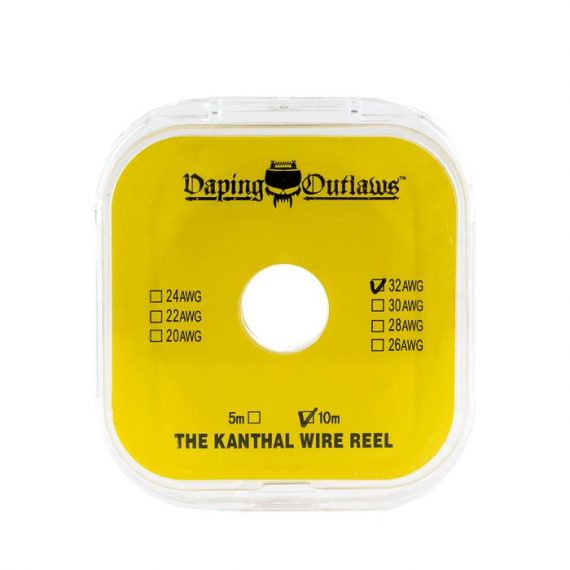 Vaping Outlaws Kanthal Wire Reel 10M VOACECKWR09F6