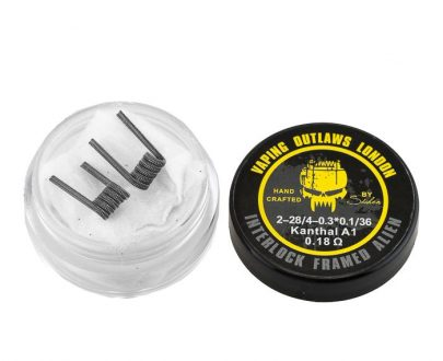 Vaping Outlaws - Interlock Framed Alien Coils VOAC63IFA43F3
