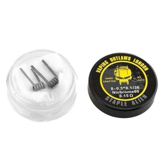 Vaping Outlaws - Staple Alien Coils VOACADSAC5A4A