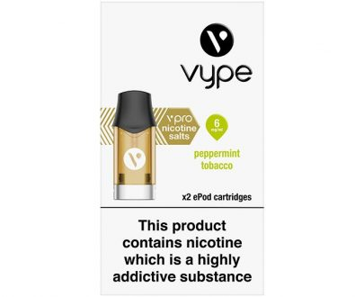 Vype vPro ePod Cartridges - Peppermint Tobacco VYELB3VEC2M06