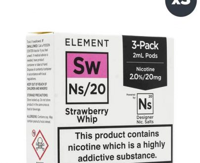 Element NS20 Series - Strawberry Whip Pods ELFL3ENSS2M20