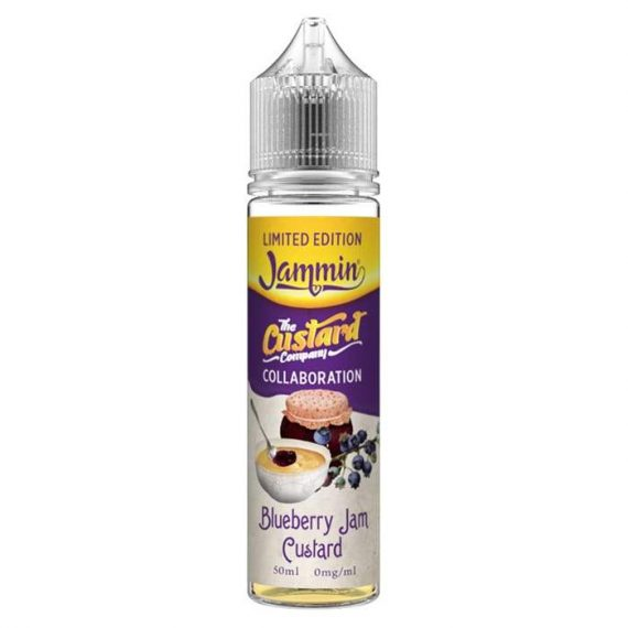 The Custard Company - Limited Edition - Blueberry Jam Custard 50ml Sho TCFL9ELEB5000