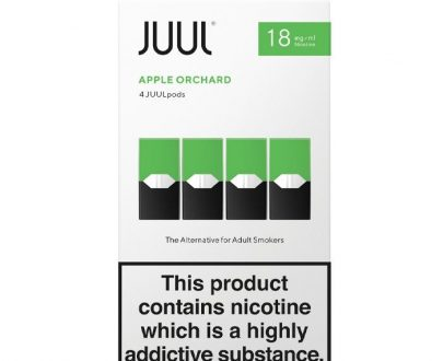 JUUL Pods Apple Orchard x 4 JUEL02PAO1M18