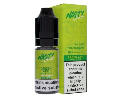 Nasty Salt - Green Ape Nicotine Salt 10ml E-Liquid NJEL81NSG1010