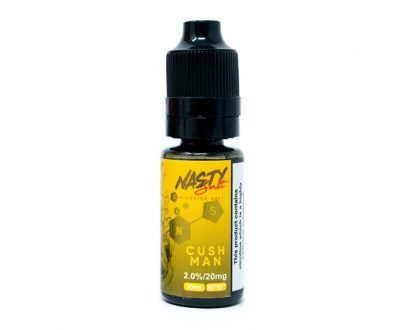 Nasty Salt - Cush Man Nicotine Salt 10ml E-Liquid NJFL86NSC1010