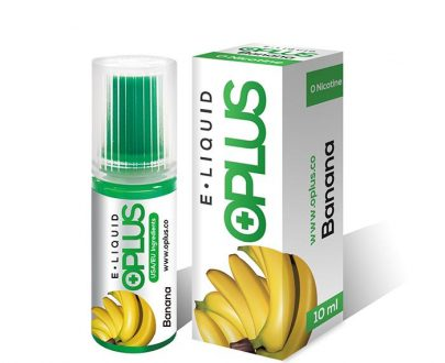 OPlus E-Liquid - Banana 10ml E-Liquid OPFLCBELB1000