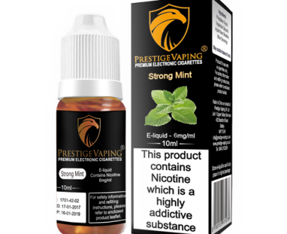 Strong Mint 10ml E-Liquid | Prestige Vaping UK