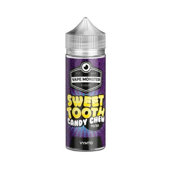 Sweet Tooth Candy Chew - VYMTO 100ml Short Fill E-Liquid STEL07CCV1000